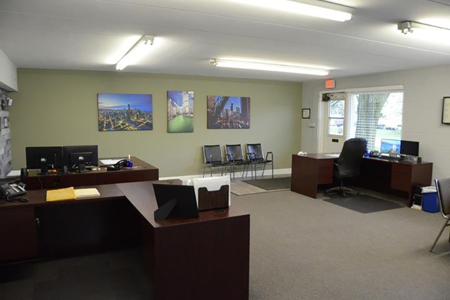 Contact - View Of Gallagher And Murphy Office Interior